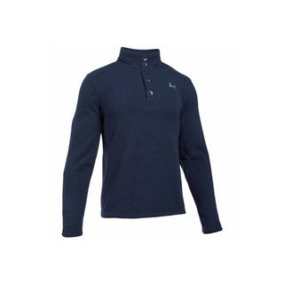 Under Armour Men's Specialist Storm Midnight Navy/Overcast Grey Polyester Sweater