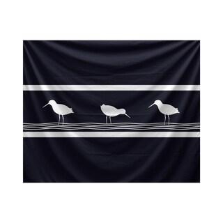 E by Design Birdwalk Animal Print Tapestry