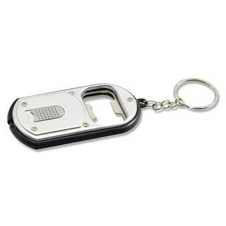 """Sentry LED25 3"""" Silver LED Keychain & Bottle Opener"""