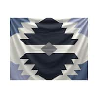 E by Design Mesa Geometric Print Tapestry