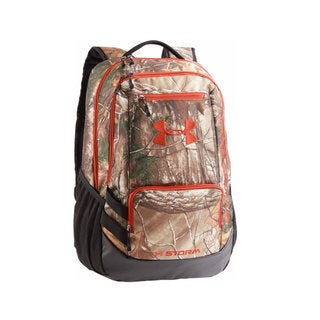 Under Armour Multicolored Polyester Camo Hustle Backpack
