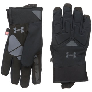 Under Armour ColdGear Black/Stealth Grey Infrared Scent Control 2.0 Primer Gloves