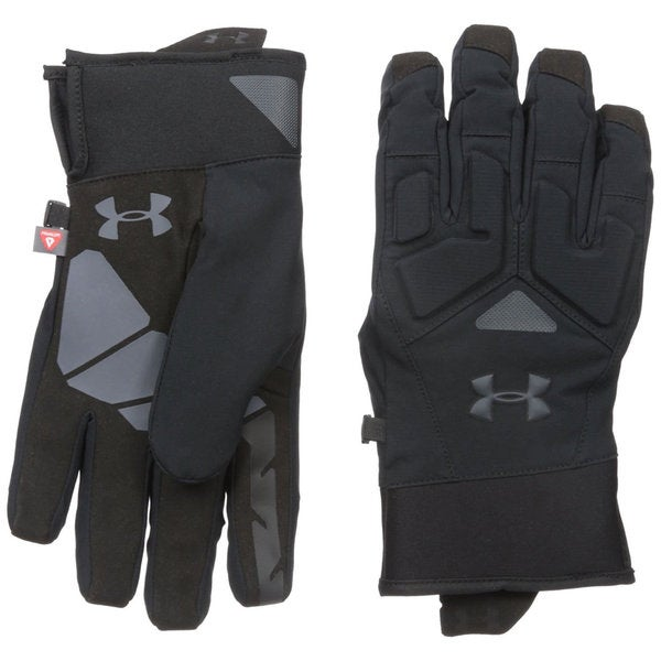 Under Armour ColdGear Black/Stealth Grey Infrared Scent Control 2.0 Primer Gloves