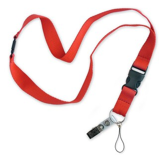"""Lucky Line Products 64101 18"""" Flat Lanyard Assorted"""