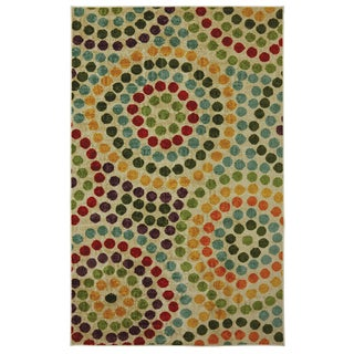 Mohawk Home Strata Mosaic Stones Multi Area Rug (7'6 x 10')