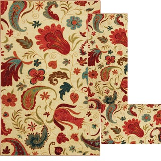 Mohawk Home Strata Tropical Acres Area Rug Set (20 x 34 24 x 60 and 90 x 120)