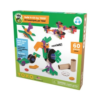 PBS KIDS Build It Kit 60-piece Creative Construction Toy by YOXO