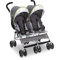 Delta Children J is for Jeep Brand Scout Fairway Double Stroller