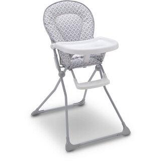Delta EZ-fold Glacier Metal Children's High Chair