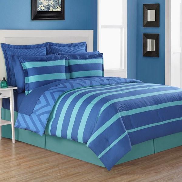Fiesta Biscay 3 & 4 Piece Reversible Comforter Set