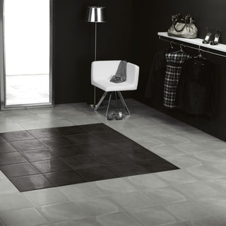 SomerTile 14.125x14.125-inch Symbol Fosc Porcelain Floor and Wall Tile (8/Case, 11.3 sqft.)