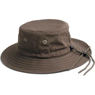 Sloggers 4471DB Large To XL Dark Brown Men's Cotton Hat