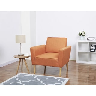Carlsbad Orange Arm Chair