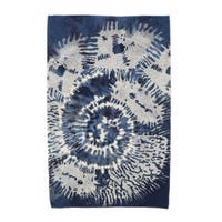 E by Design Conch Animal Print Beach Towel