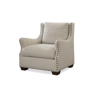 Universal Connor Beige Linen/Wood Chair