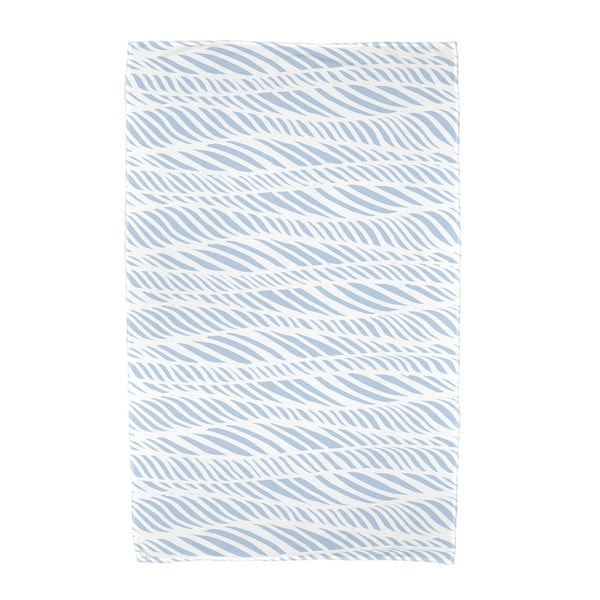 E by Design Rolling Waves Geometric Print Beach Towel