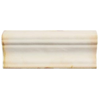 SomerTile 2x4.75-inch Chronicle Moldura Ceramic Wall Trim Tile (6/Pack, 0.47 sqft.)