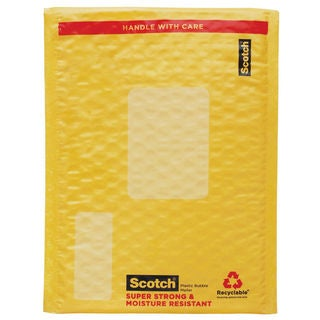 "3M 8913-CLR 6"" X 9"" Scotch Self Sealing Smart Mailer Assorted Colors"