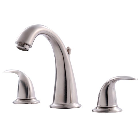 Ultra Faucets UF55013 Brushed Nickel Two Handle Lavatory Widespread Faucet