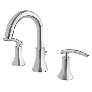 Ultra Faucets UF55310 Chrome Contemporary Collection Lavatory Widespread Faucet