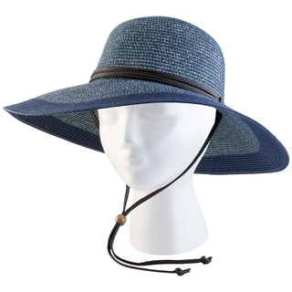 Sloggers 442GB Medium Women's Grey & Blue Wide Brim Hat