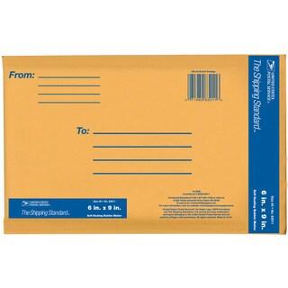 """Lepages 83011 6"""" x 9"""" Kraft Manila USPS Padded Mailers"""