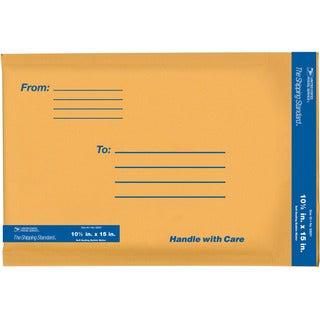 """Lepages 83031 10.5"""" x 15"""" Kraft Manila USPS Padded Mailers"""