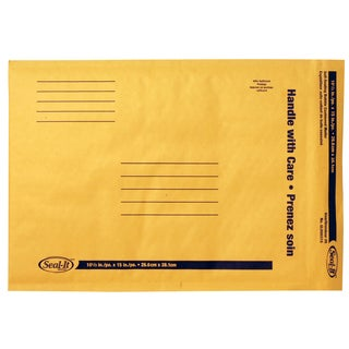 "Lepages GLD30510 10.5"" X 15"" Seal It Kraft Mailer"