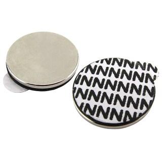 """Master Magnetics 07528 3/4"""" Diameter Adhesive Neo Disc 5 Count"""