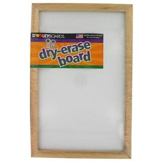 """Dooley Boards 1218 MB 11"""" X 17"""" Wood Framed Dry Erase Marker Board"""