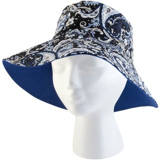 Sloggers 4475BW Medium Women's Blue Wave Classic Floppy Bucket Hat