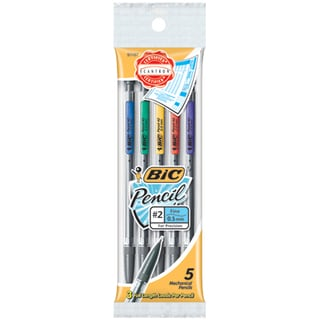 Bic MPFP51 .5mm Bic® Matic Classic Mechanical Pencil 5 Count