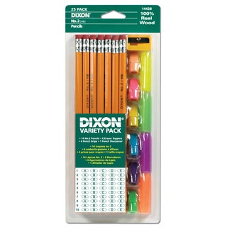 Dixon Ticonderoga 14428 Pencil Variety Pack 24 Piece