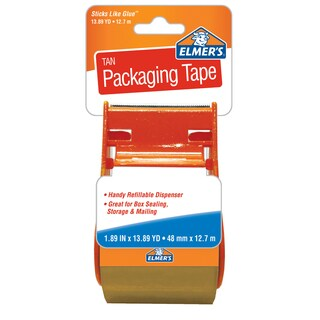Elmer's 45110 Sticks Like Glue Elmer's Tan Packaging Tape