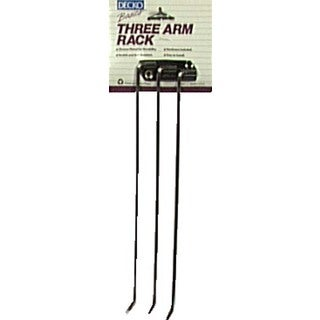 Decko 38190 Chrome 3 Arm Towel Rack