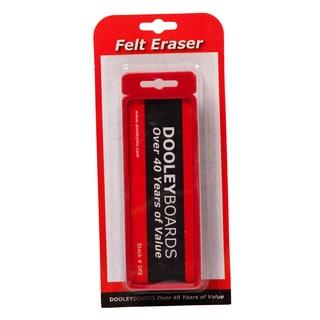 """Dooley Boards DFE 2"""" X 5"""" Felt Eraser Assorted Colors"""