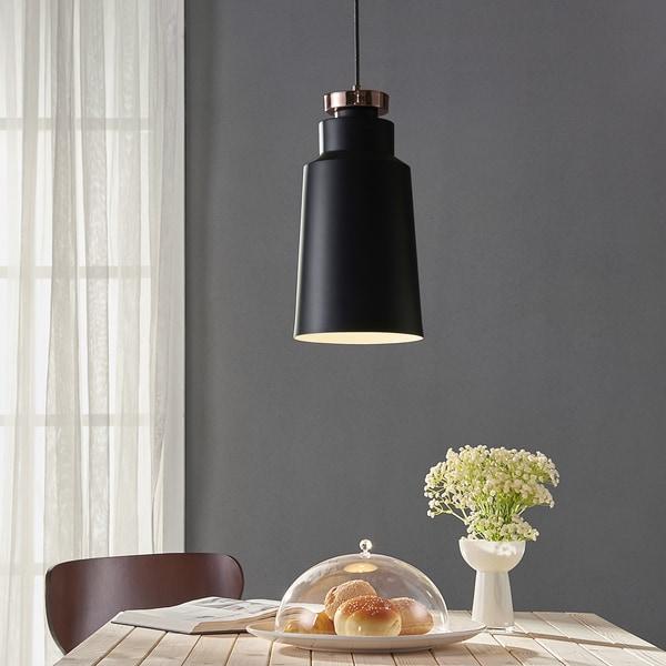Versanora Black/Grey Copper/Metal/PVC/Plastic Pendant Light