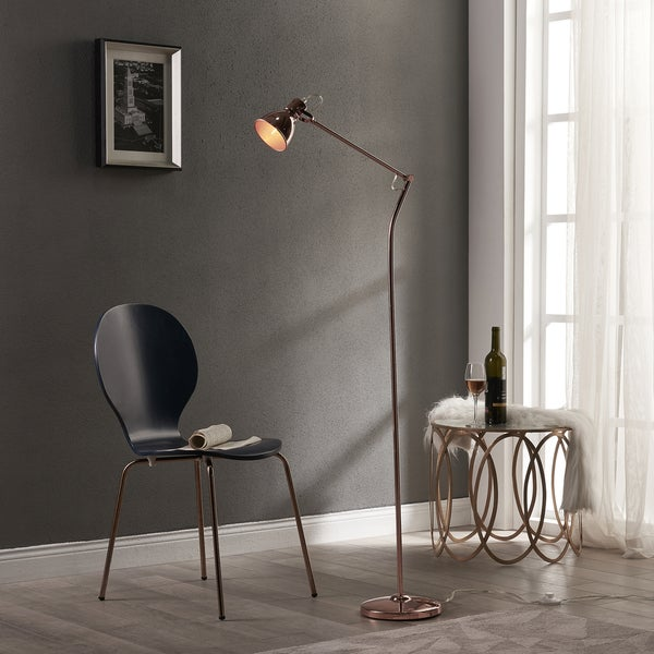 Versanora Passione Rose Gold Finish Floor Lamp