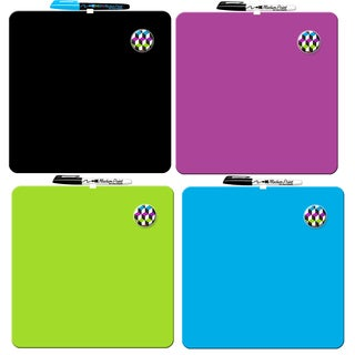 "Rose Art DFB78 20"" X 16"" Plastic Frame Dry Erase Calendar Assorted Colors"