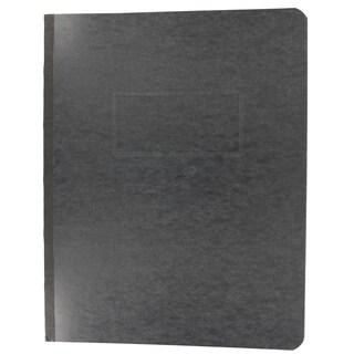 "Acco Brands A7025971A 8-1/2"" X 11"" Black 3"" Prong Pressboard Project Cover"