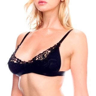 Prestige Biatta Embroidered Lace Overlayed Shelf Bralette