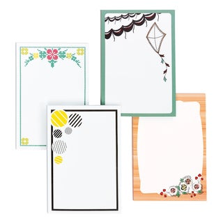 3M 4646-DV-TREND Printed Notes Pad Assorted Styles