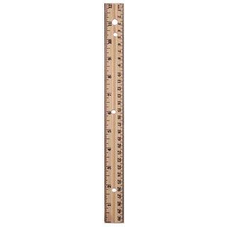 """A&W 36018 12"""" Wood Ruler"""
