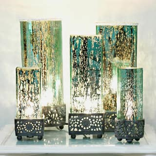 River of Goods Studio Art Mercury Glass 12.9-inch-high Square Uplight Accent Lamp|https://ak1.ostkcdn.com/images/products/12838993/P19604195.jpg?impolicy=medium