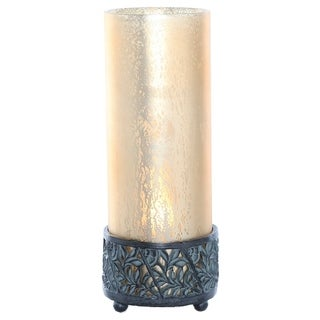 Studio Art Mercury Glass 12.9-inch High Round Uplight Accent Lamp
