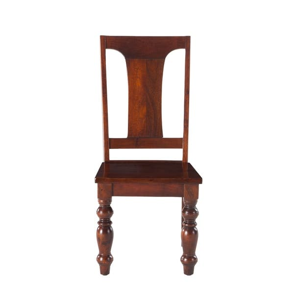Wondrous Shop Copper Grove Achern Mango Wood Dining Chairs Set Of 2 Camellatalisay Diy Chair Ideas Camellatalisaycom