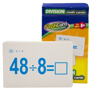 Bazic Products 535-24 Division Flash Cards 36 Count