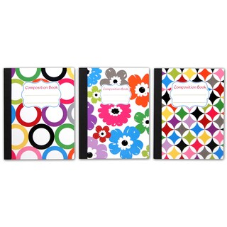 Carolina Pad 13708 9.75 X 7.5 Sugarland Composition Notebook Assorted Colors