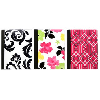 Carolina Pad 14224 Poly Cover College Ruled Composition Notebook Assorted