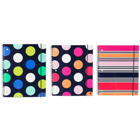 Carolina Pad 14638 8.5 x 10.5-inch Poly Cover One Notebook Cover